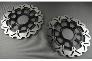 Pair of front Wave brake discs 310 mm HONDA CBR 1100XX CB1300 CB1100 X11