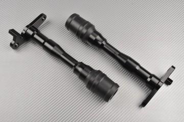 Tampons / Roulettes de Protection en Téflon YAMAHA R125 / MT125 2014 - 2020