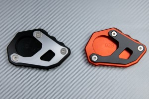 Anodised aluminum sidestand foot enlarger KTM ADVENTURE 1050 1090 1190 1290