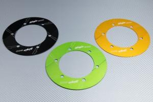 Transmission belt cover in anodised aluminum KAWASAKI NINJA 300