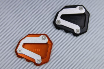 Anodised aluminum sidestand foot enlarger KTM DUKE 790 / 890 R