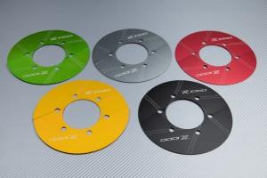 Cache Couronne en aluminium anodisé KAWASAKI Z1000 Z1000R Z1000SX 2010 -  2020