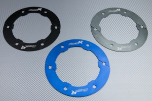 Transmission belt cover in anodised aluminum BMW F800 R 2009 - 2019