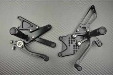 Pedane arretrate regolabili per Ducati Streetfighter 848 1098
