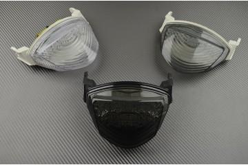 Feu Stop Led Clignotants Intégrés Suzuki GSXR1000 K5 K6