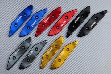 Eloxierte Spiegelabdeckung für zahlreiche  Yamaha TMAX 530 / 560 2012 - 2020