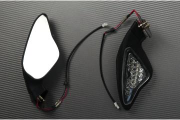 Paar Verstellbarer Rückspiegel mit Blinker Ducati 848 1098 1198
