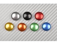 Tapas para tornillos de aluminio anodizado M6