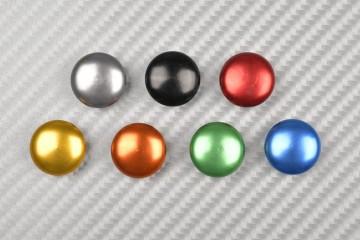 Copriviti a testa tonda colorate M6