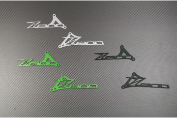Brackets / Pair of Heel Rests with Z800 Logo