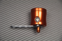 Depósito líquido de frenos anodizado