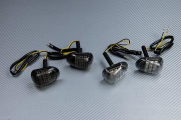 Paire de clignotants avant LED goutte d'eau