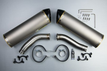 Slip On Exhaust YAMAHA  YZF R1 2004 - 2006TWO BROTHERS Titanium  / Magnesium