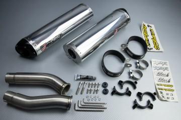 Scarico TWO BROTHERS Alluminio / Magnesio YAMAHA YZF R1 2007 - 2008