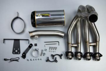 Auspuff-komplett KAWASAKI ZX6R 2009 - 2012 / ZX-6R 636 2013 - 2020TWO BROTHERS Aluminium / Magnesium