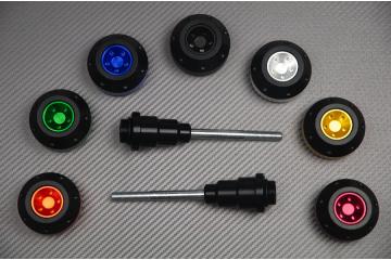 Tampons / Roulettes de protection KAWASAKI Z1000 10 / 19 et Z1000R
