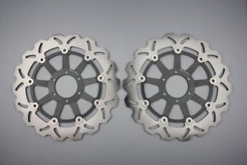 Pair of Front Wave brake discs 300mm YAMAHA DUCATI TRIUMPH