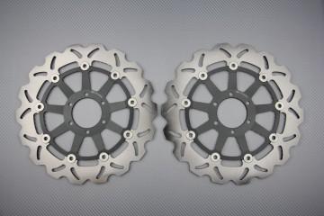 Pair of Front Wave brake discs 300 mm YAMAHA DUCATI TRIUMPH