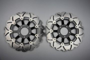 Coppia di dischi anteriore wave / margherita 310mm SUZUKI