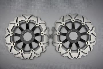 Coppia di dischi anteriore wave / margherita 296mm HONDA