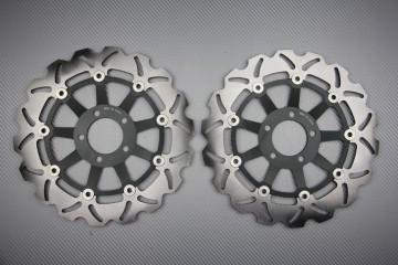 Coppia di dischi anteriore wave / margherita 300mm Kawasaki