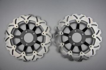 Coppia di dischi anteriore wave / margherita 300mm SUZUKI precedenti al 2000
