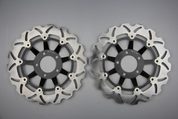 Paar wave Bremsscheiben 300 mm viele SUZUKI vor 2000