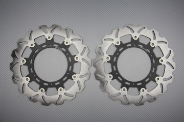 Coppia di dischi anteriore wave / margherita 300mm KTM