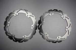 Coppia di dischi anteriore wave / margherita 320mm HONDA