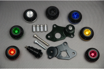 Tampons / Roulettes de protection SUZUKI GSXR 600 750 06 / 10