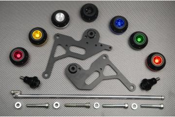 Tampons / Roulettes de protection SUZUKI GSXR 1000 09 / 16