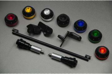 Tampons / Roulettes de protection SUZUKI HAYABUSA 1340 08 / 18