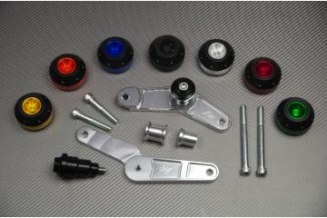 Tampons / Roulettes de protection TRIUMPH DAYTONA 675 ET 675R 06 / 12