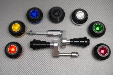 Tampons / Roulettes de protection TRIUMPH TIGER 800 / XC 2011 / 2019