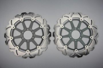 Coppia di dischi anteriore wave / margherita 320mm APRILIA