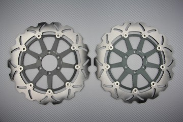 Coppia di dischi anteriore wave / margherita 320mm BIMOTA