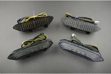 Feu Stop Led Clignotants Intégrés Yamaha R1 02/03 et Raptor 700