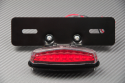 Adaptable License Plate Holder + Tail & License Plate Light