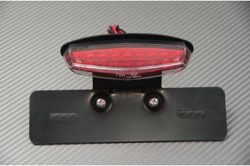 Portamatrícula + luz stop y luz de matrícula para adaptar