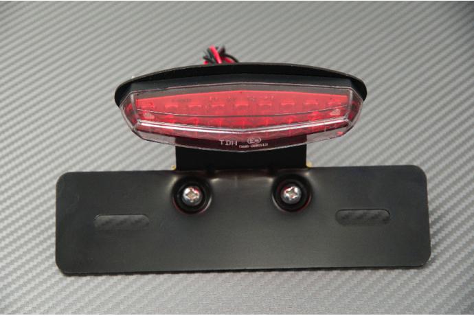 Porta targa luce stop da adattare