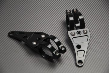 Staffe fissaggio 41mm Universali per faro Tondo