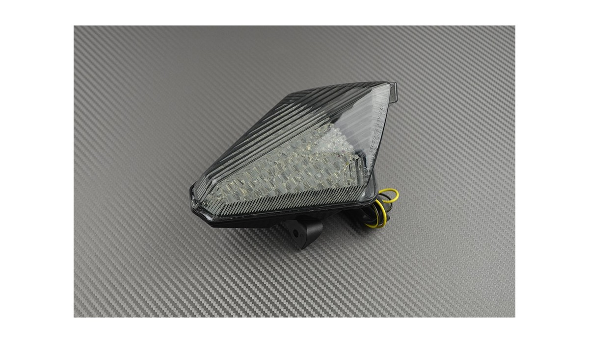 led taillight with integrated turn signals for yamaha r1. Black Bedroom Furniture Sets. Home Design Ideas