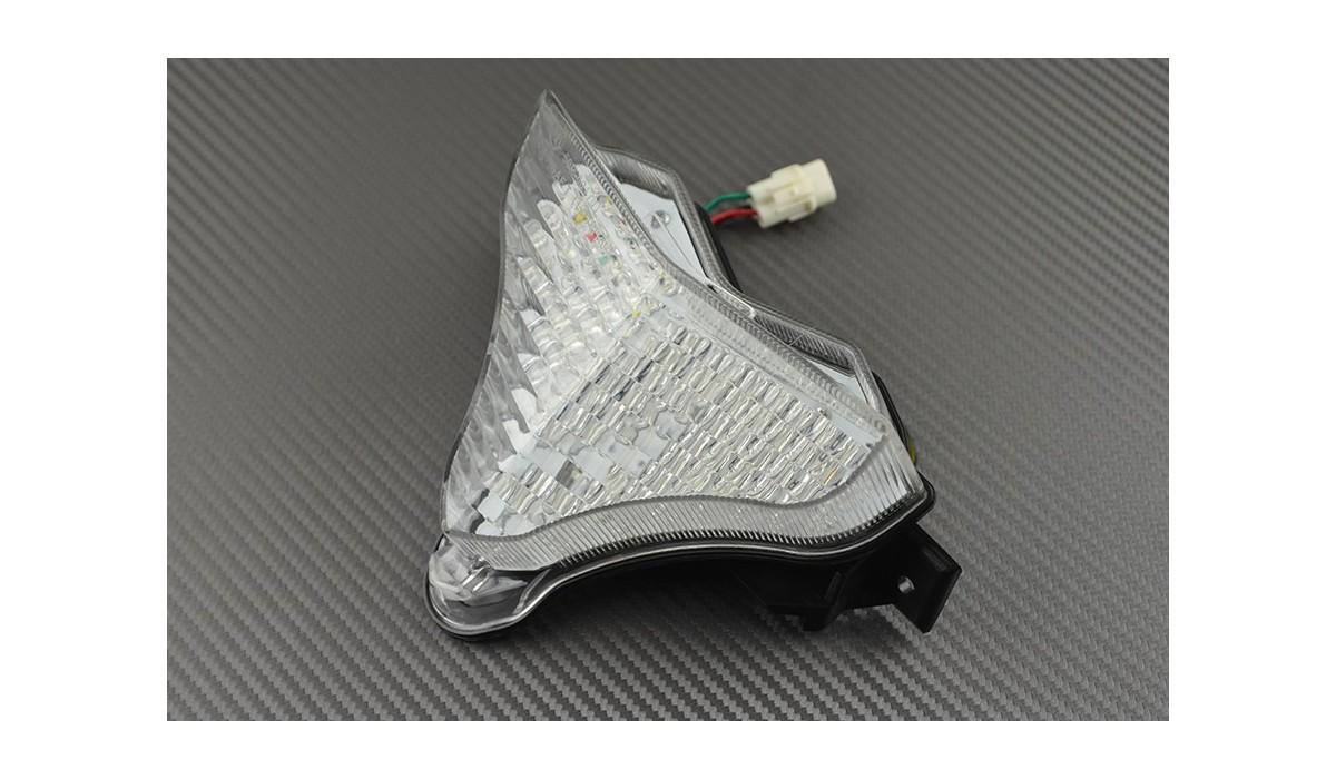 2014 Fanale posteriore indicatori di direzione integrato per Yamaha R1 2009 Chiaro
