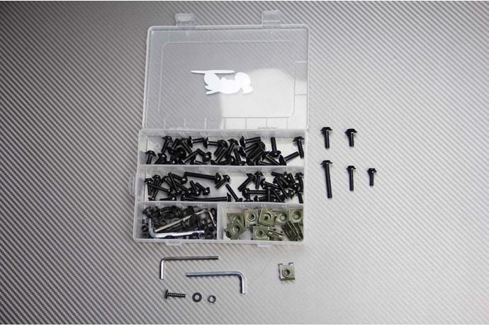 Kit de visserie en aluminium anodisé