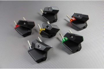Tampons de protection KAWASAKI Z750, Z750R, et Z800 Z800-E