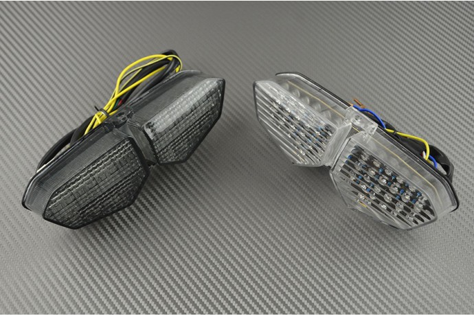 Led Taillight With Integrated Turn Signals For Yamaha R6 2003 2005 And Xtz Super Tenere 1200