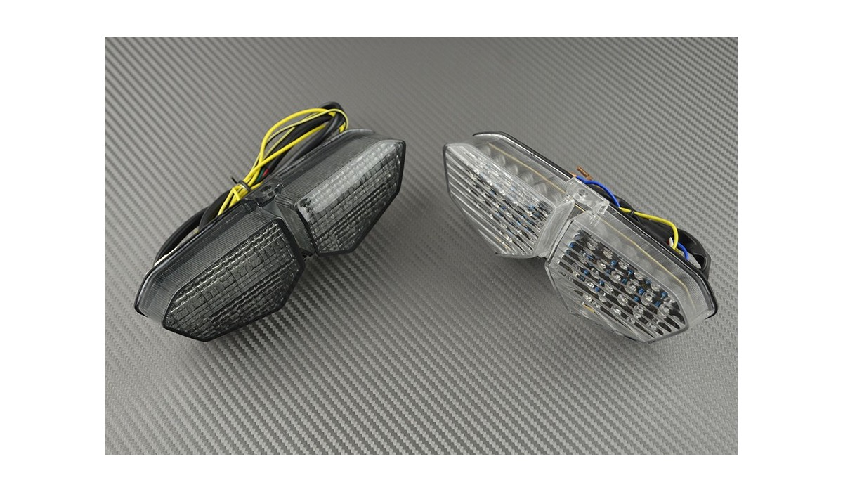 Led Taillight With Integrated Turn Signals For Yamaha R6