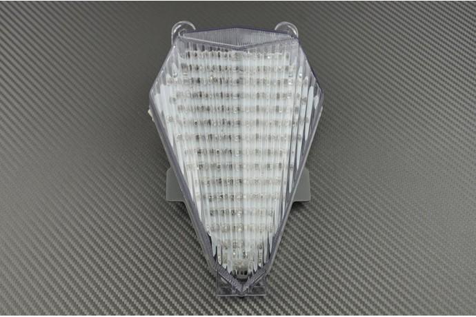 Luces de freno LED con intermitentes integrados para Yamaha R6 2006 Tintado 2007