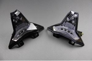 LED-Bremslicht mit integrierten Blinker für Kawasaki ZX6R & ZX10R & Z1000 2014 - 2020 & Z400 & Ninja 400 2018-2020
