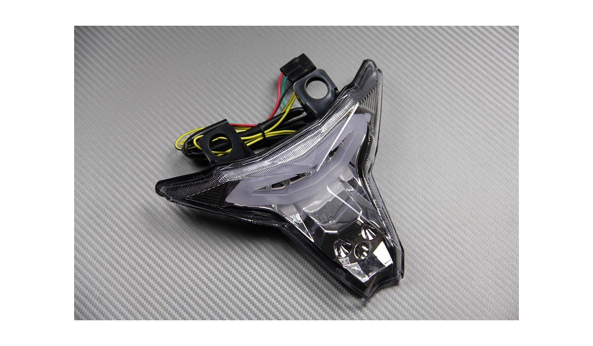 Led Taillight With Integrated Turn Signals For Kawasaki